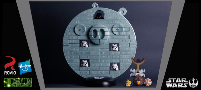 Angry Birds SW Death Star. Обзор